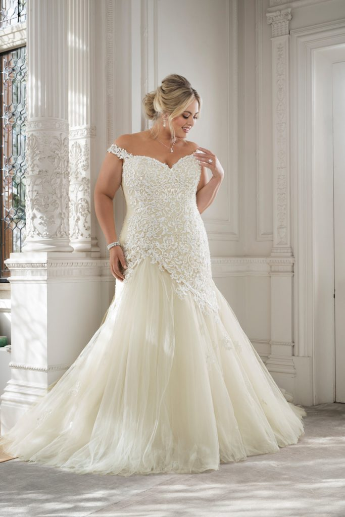 Curvy Bride wedding Dress