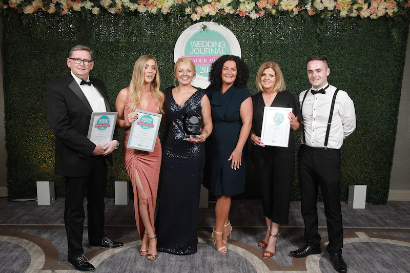The Wedding Journal Reader Awards Winner & Finalists - Crowne Plaza Belfast