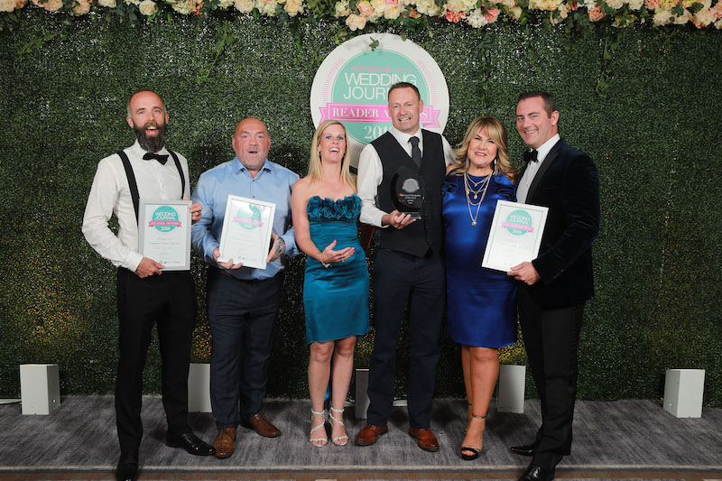 Wedding Journal Reader Awards 2018 Winners & Finalists - I Do Weddings & Limo Hire