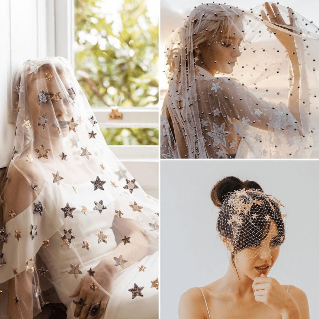 Celestial-Wedding-Theme-Veils
