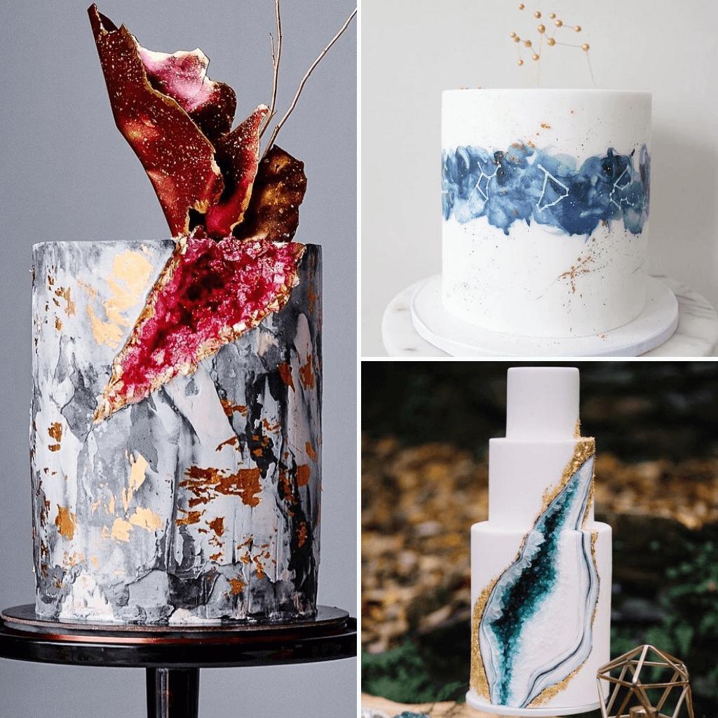 Celestial-Wedding-Theme-Cake