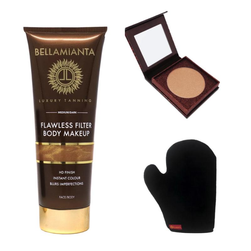 Bellaminata tanning products