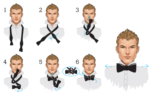 How to tie a by yourself howsto how to tie a bow easy ccuart Image collections