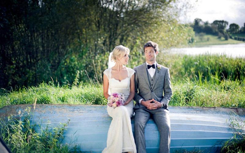 Real Irish Wedding: Jude Nabley and Rob Rea
