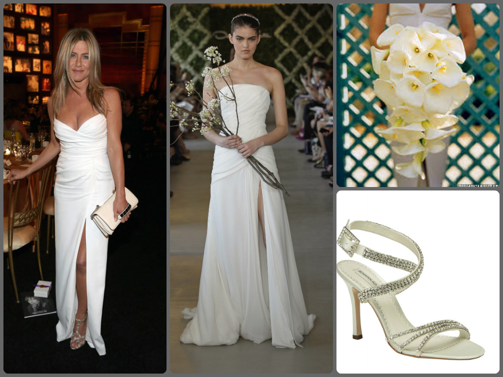 Look To The Stars - Celeb Inspired Bridal Style