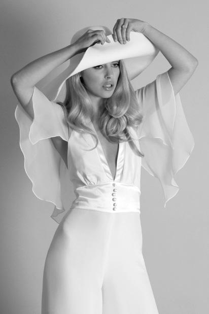 bianca trouser suit, circa brides