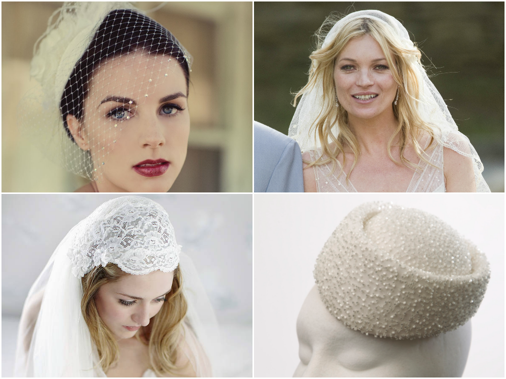 bridal veil collage