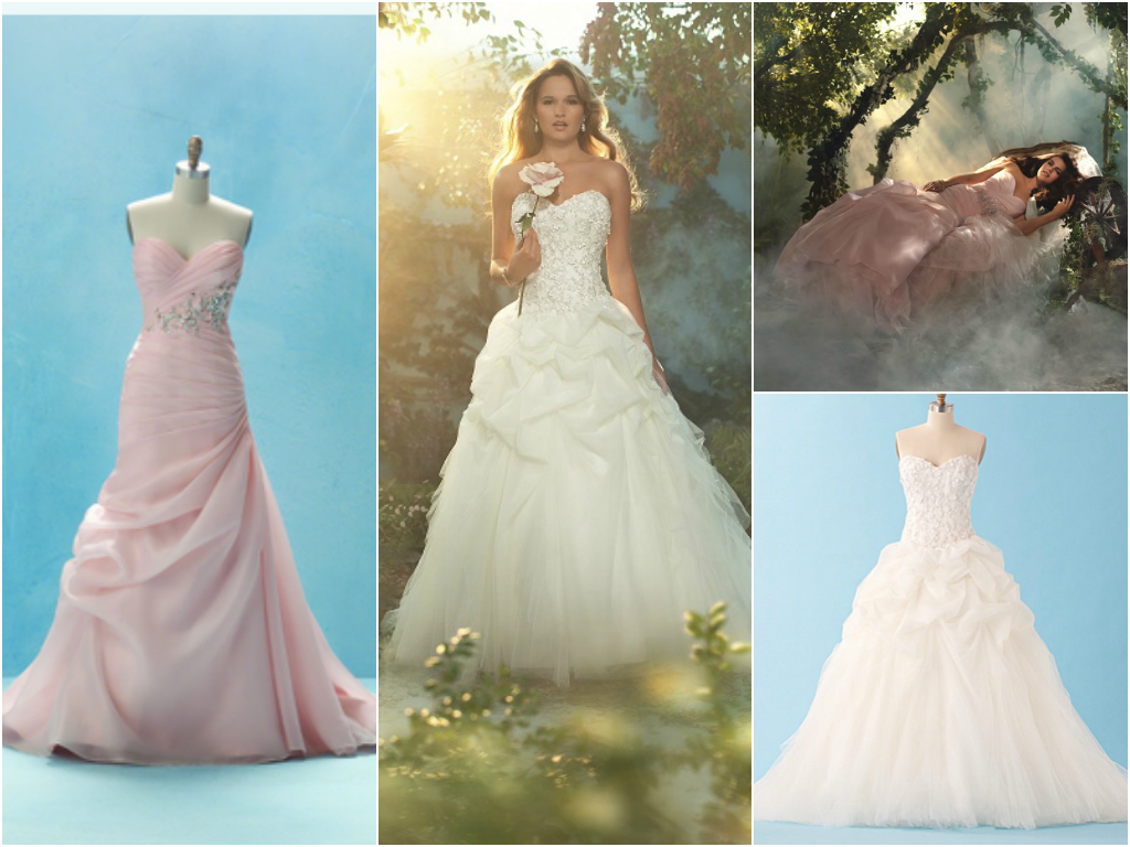 Disney princess bridal gowns for Disney style wedding dresses