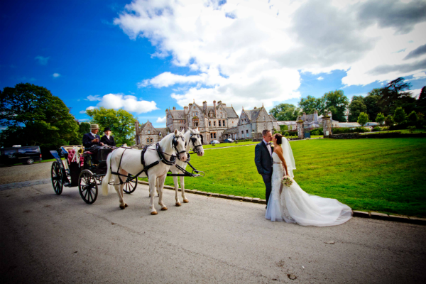 Real Irish Wedding Castle Leslie Glaslough Monaghan 1