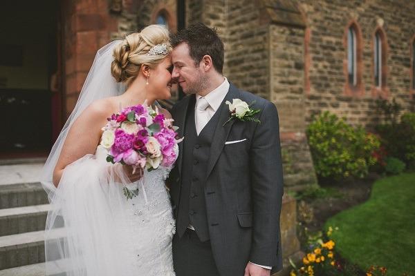 Kathy Armstrong & Stuart Ferguson's wedding at Ballygally Castle Hotel