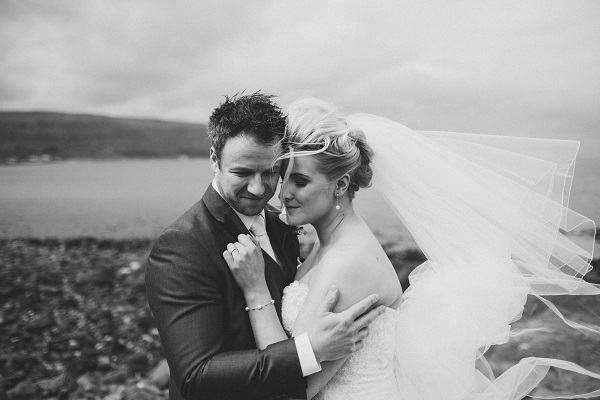 Real Irish Wedding: Larne Methodist Church and Ballygally Castle Hotel, Antrim