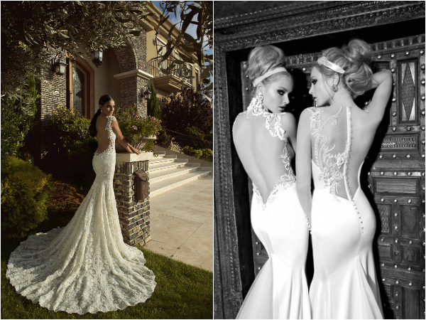 galia lahav sexy wedding dresses