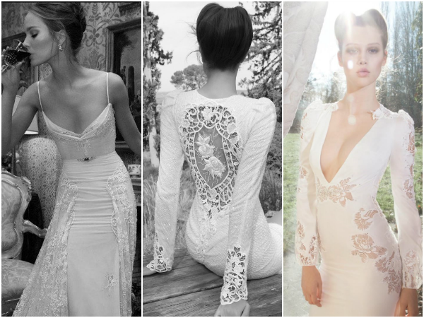 Inbal Dror sexy wedding dresses