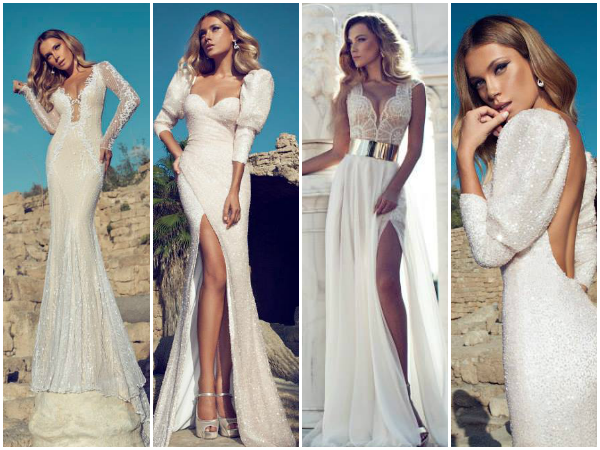 Julie Vino sexy wedding dresses