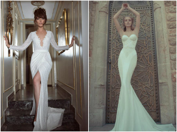 yaki ravid sexy wedding dresses