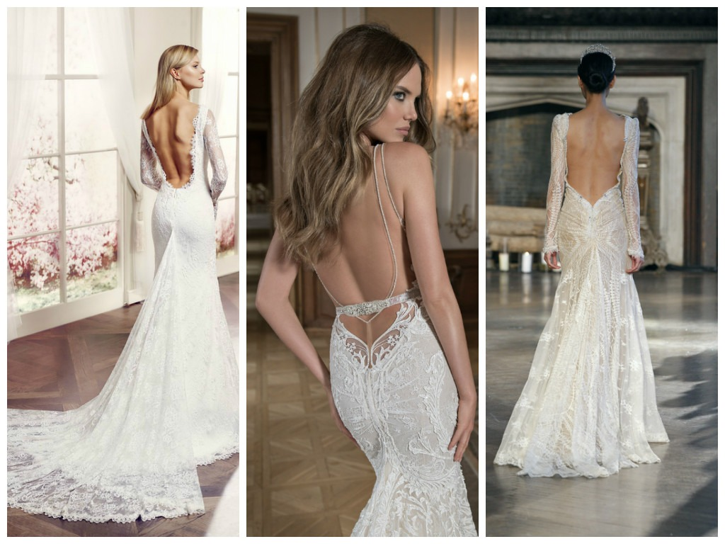 bridal style is bringing sexy back backless wedding dresses backless wedding dresses sexy backless wedding dresses 2