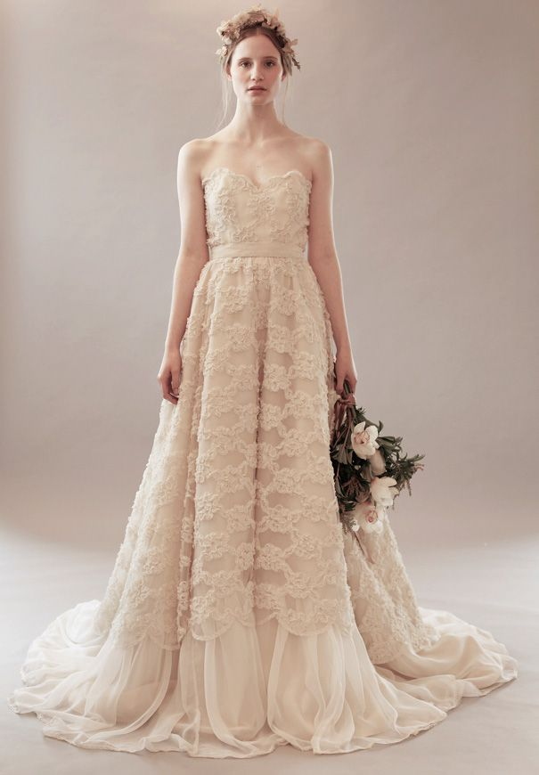 Bridal designer to watch rue de seine Vintage wedding dress design