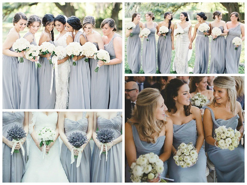 Grey Bridesmaid Dress | Shades Of Grey Bridesmaid Dresses