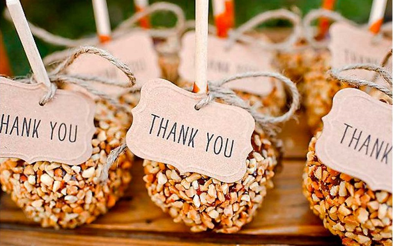 Diy delights homemade wedding favours junglespirit Choice Image