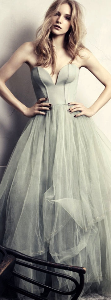 mint wedding dresses 5