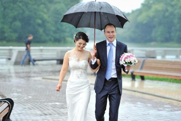 things that happen at every Irish wedding rain