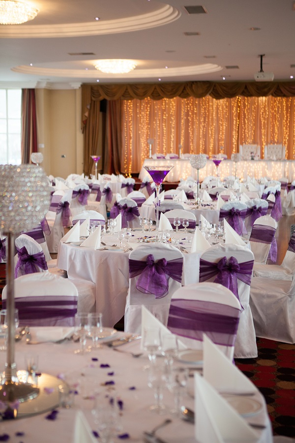 Inishowen Gateway Hotel Winter Wedding Package room decor