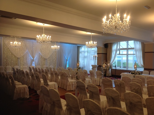 Inishowen Gateway Hotel Winter Wedding Package  civil ceremony room swilly