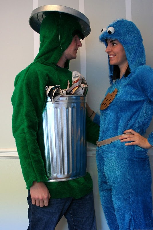 grouch and cookie monster halloween costumes
