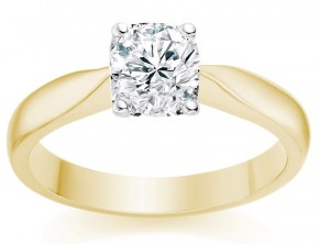 star sign engagement ring