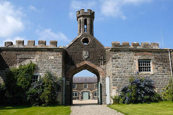 Irish Castle Wedding Venues lissanoure castle