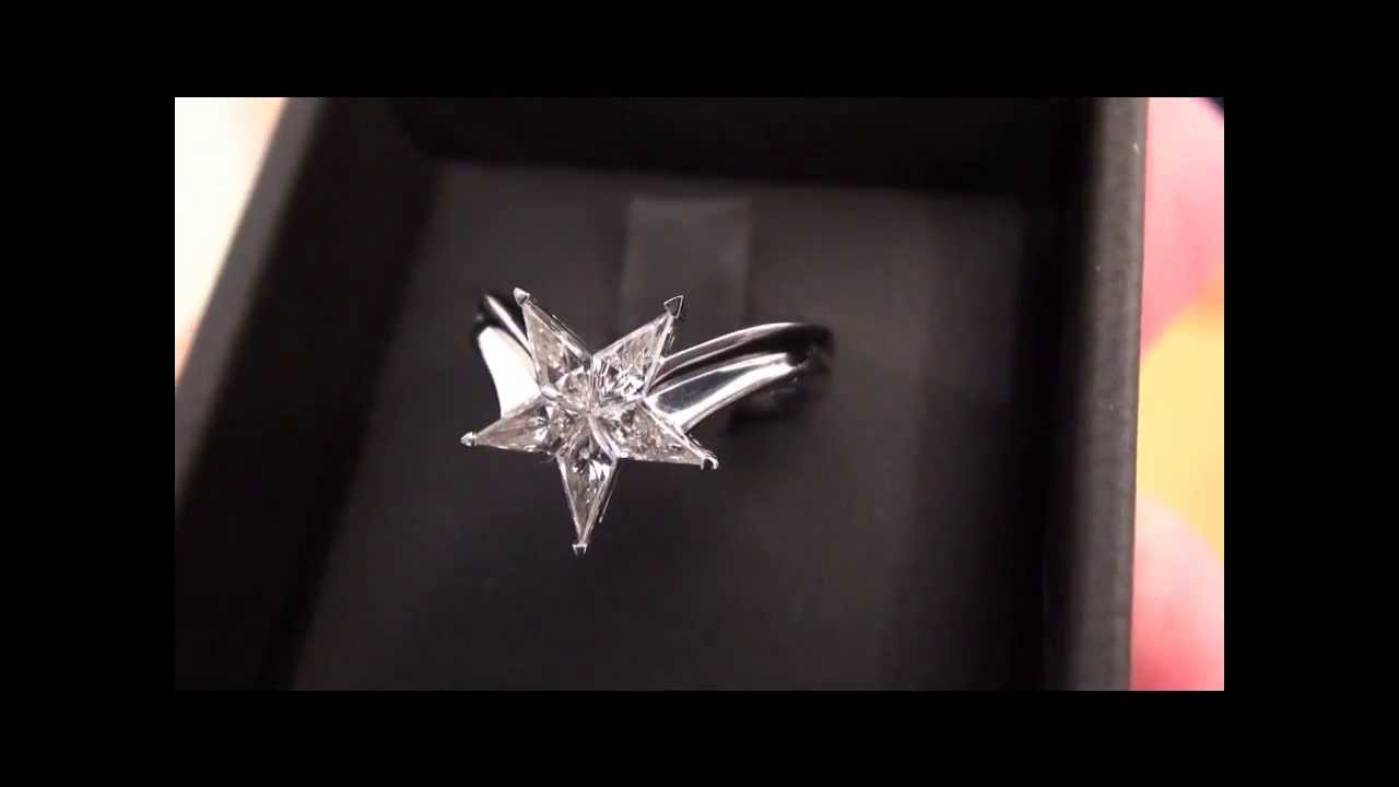 star engagement ring