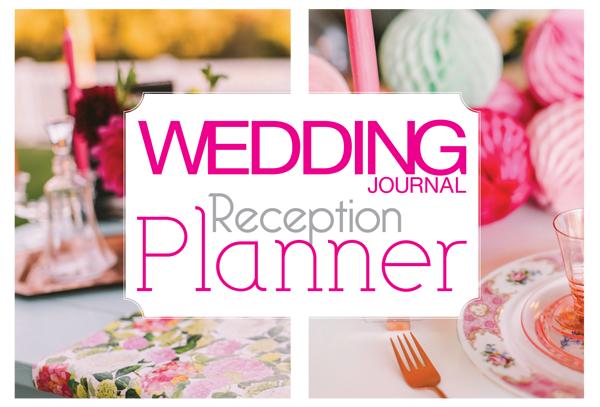 Wedding Journal Reception Planner Magazine