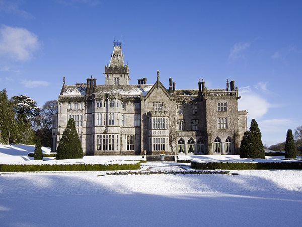 winter wedding adare manor