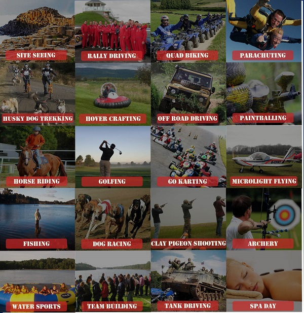 adventure tours ni activities list
