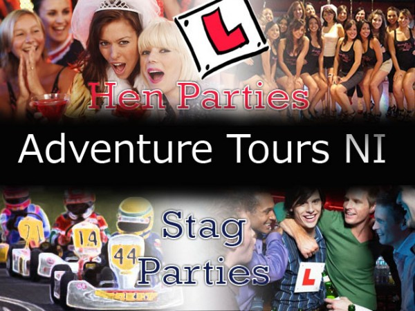 hen and stag parties adventure tours ni