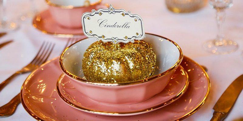 Cinderella place setting
