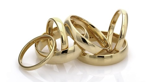 Fairtrade wedding rings