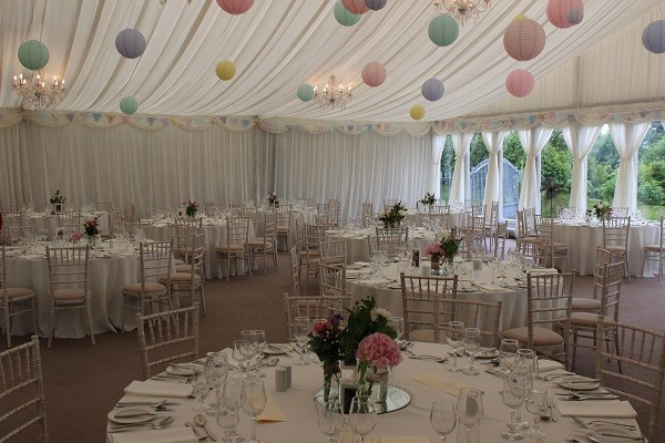 Wow-Weddings, Dundalk marquee dressing