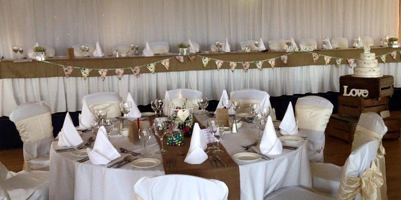 wow weddings decorated room
