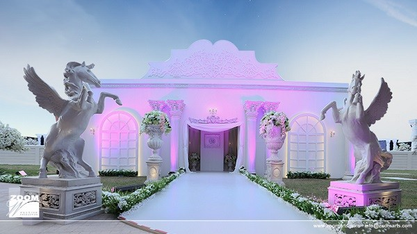 Emirati royal wedding venue