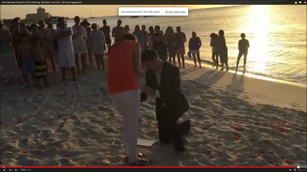 viral proposal video