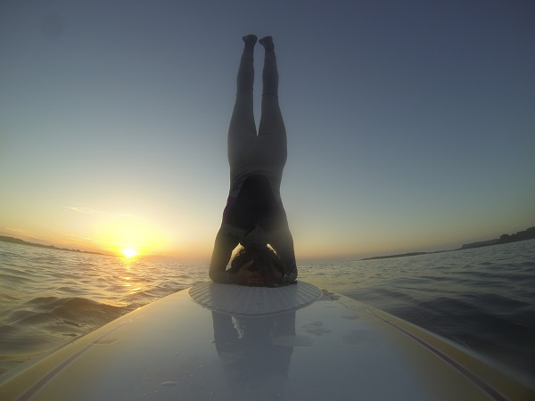 stand up paddle yoga, unusual yoga 2015