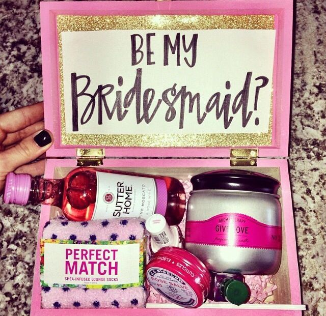 Will You Be My Bridesmaid Wedding Journal