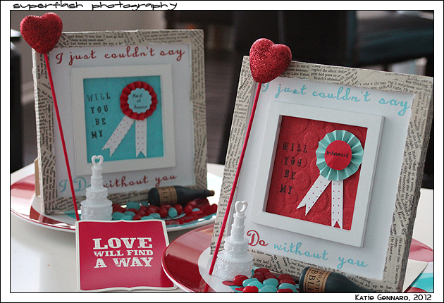 will you be my bridesmaid photo frame