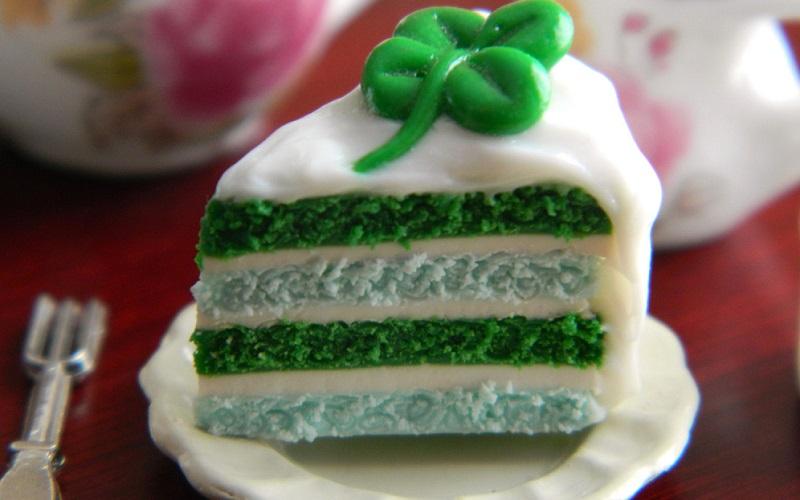 St Patrick's Day Wedding Cake