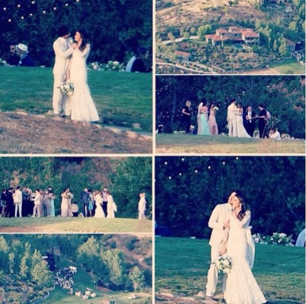 Ian Somerhalder and Nikki Reed Wedding