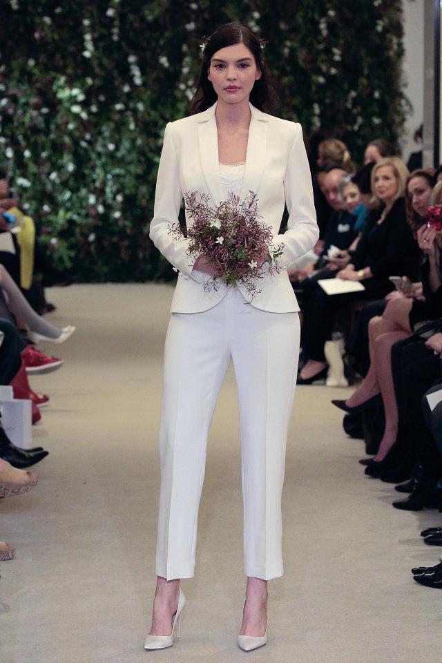 Wedding Trend Bridal Trouser Suits