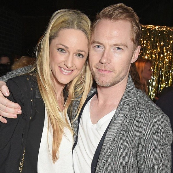 Ronan Keating and Storm engaged