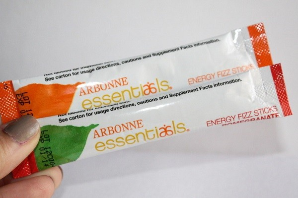energy boosting tips arbonne fizz sticks