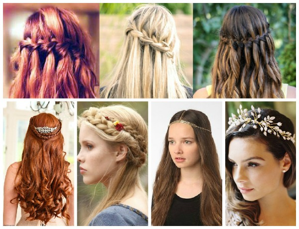 game of thrones themed wedding hair